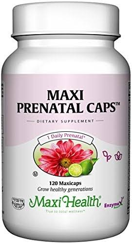 Maxi Health Prenatal Caps Multivitamins Supplement - 120 Capsule