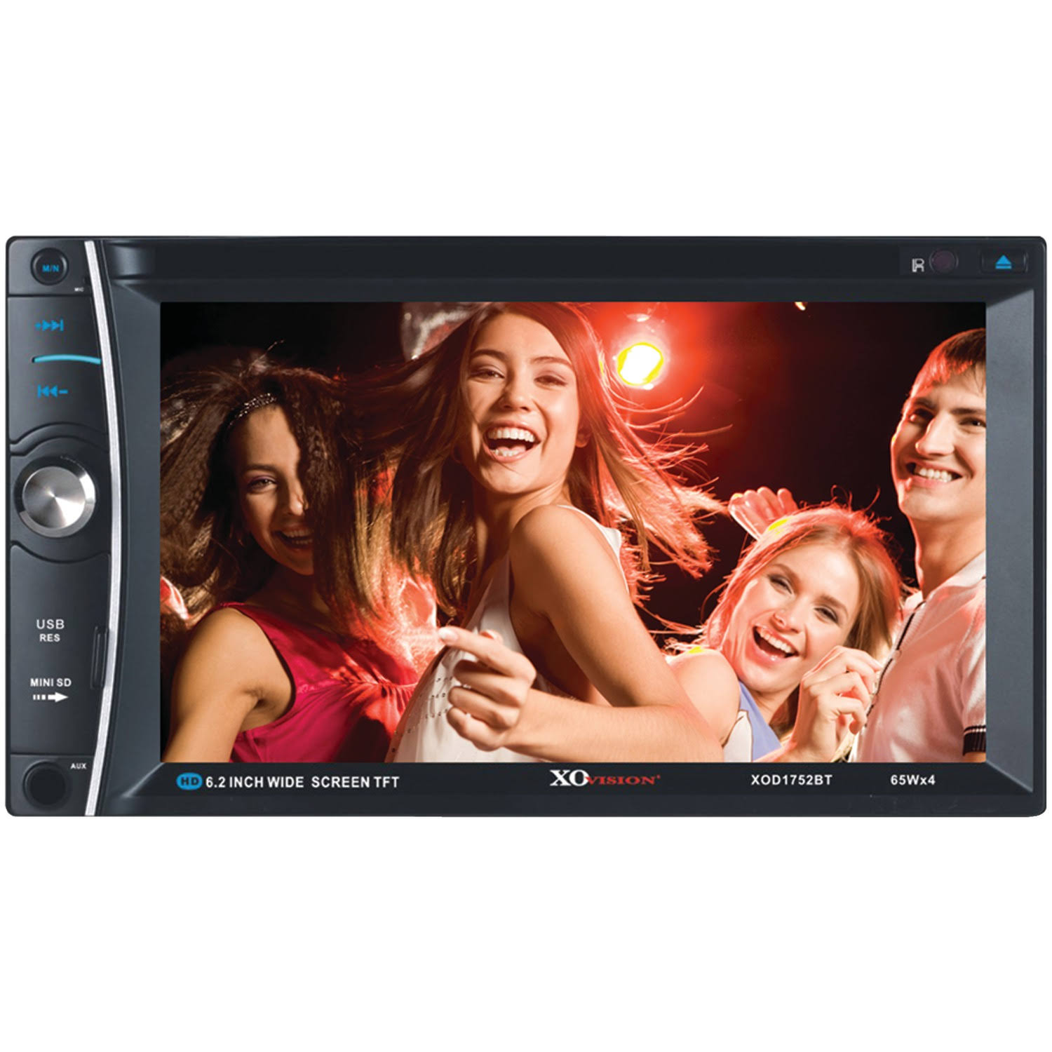 Xo Vision Xod1752Bt In-Dash Touch Screen Multimedia Dvd Receiver