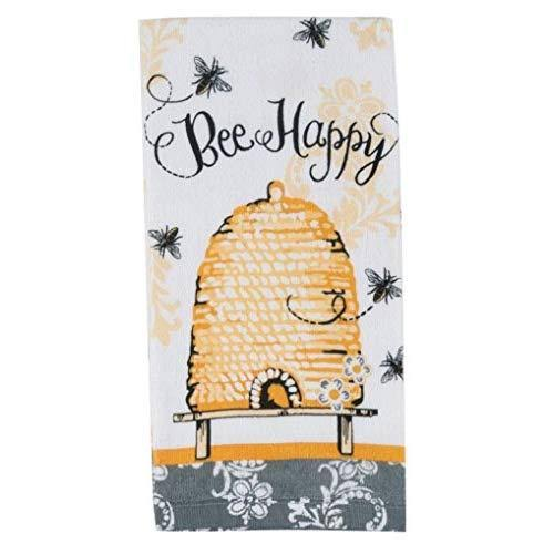 "Kay Dee Designs Queen Bee Cotton Terry Towel - 16"" x 26"""