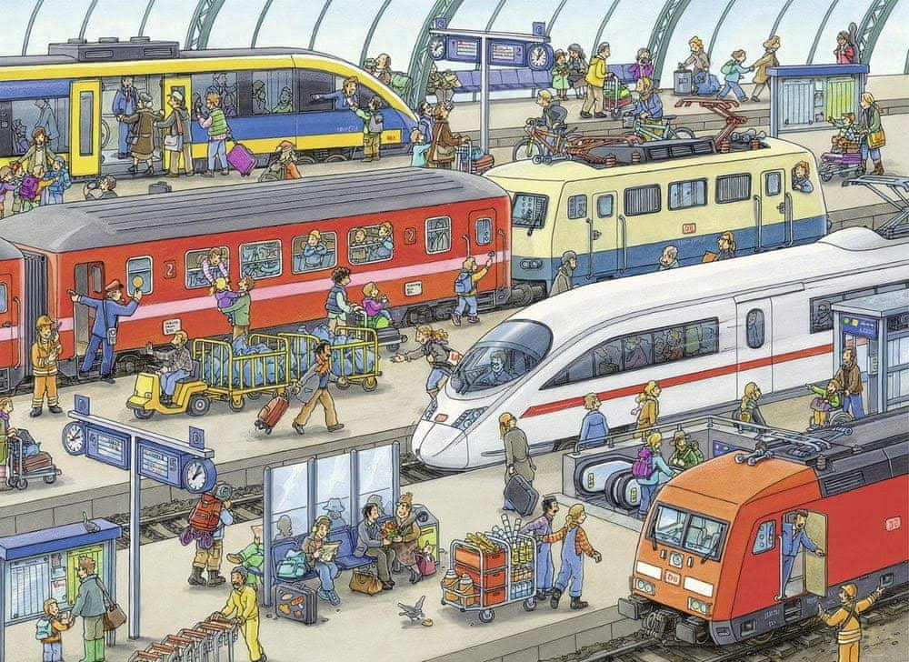 Ravensburger Railway Station Puzzle - 60 Piece