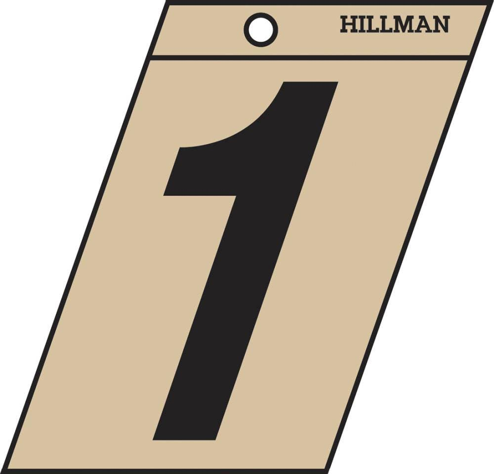 The Hillman Group 839140 1-1/2 In. Black & Gold Mylar - 1