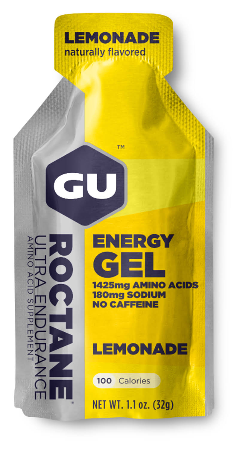 GU Energy Labs Roctane Ultra Endurance Energy Gel - Lemonade, 24 ct