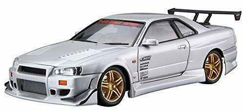1/24 Scale C-West BNR34 Skyline GT-R' 02 (Nissan)