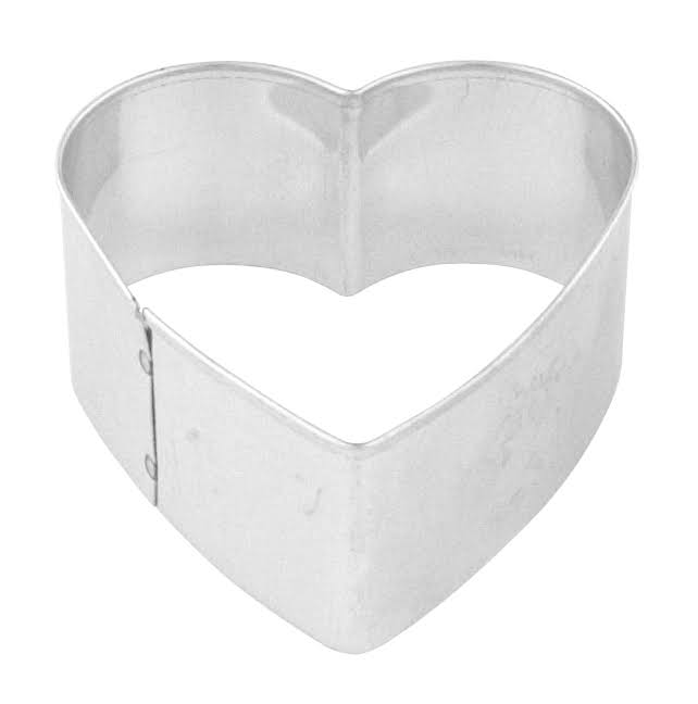 Fox Run Heart Cookie Cutter - 2""