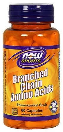 Now Sports Branched Chain Amino Acids - 240 Capsules