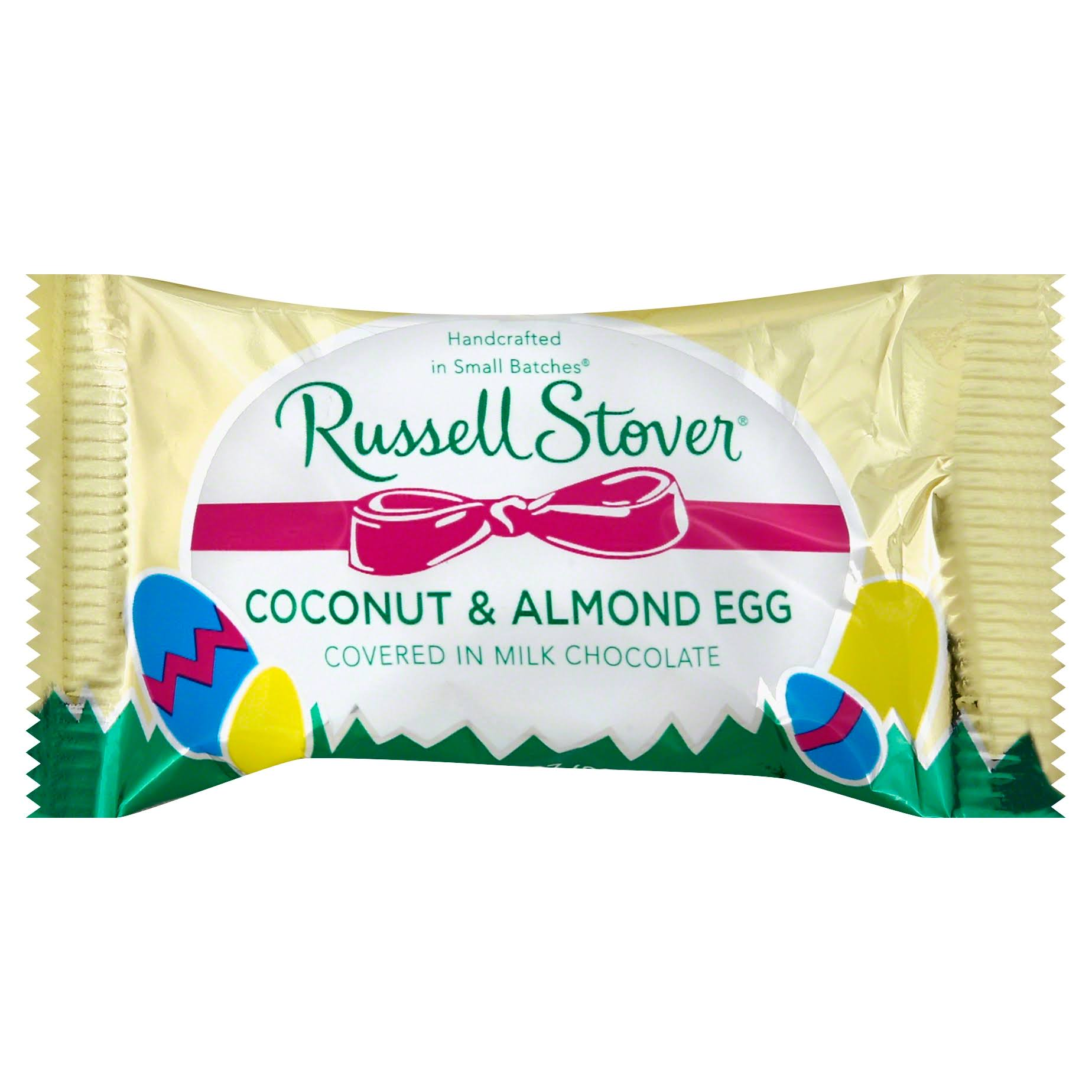 Russell Stover Egg, Coconut & Almond - 1 oz