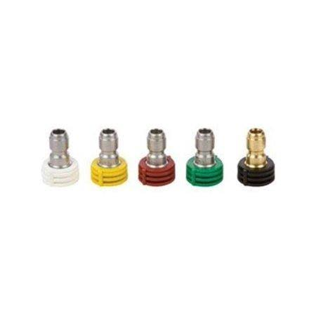 Forney Quick Connect Spray Nozzle Assortment - 4.5mm, 4000psi