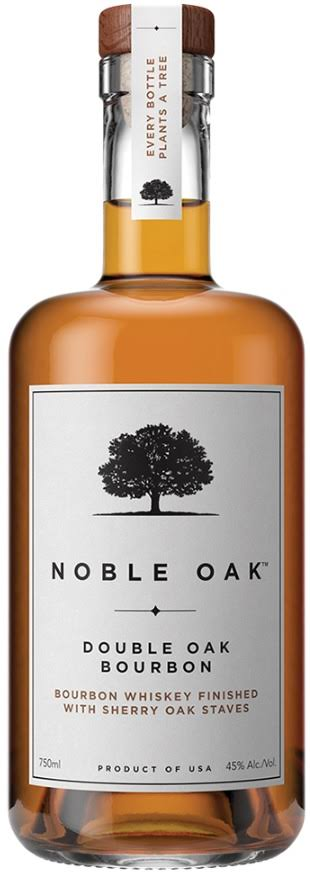 Noble Oak Bourbon Double Oak 750ml