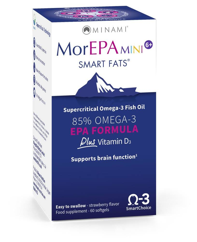 Minami MorEPA Mini Smart Fats EPA Formula Supplement - 60ct