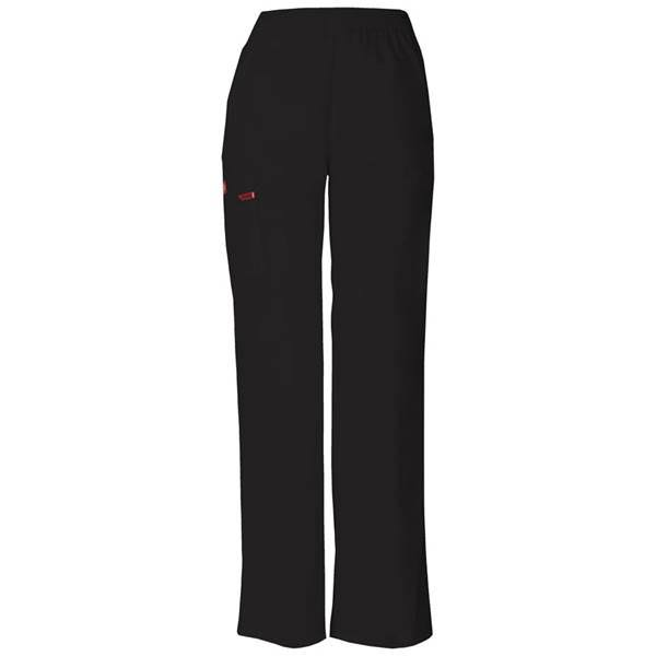 Dickies Women's Petite EDS Signature Scrubs Missy Fit Pull-On Cargo Pants - Black, XSmall Petite