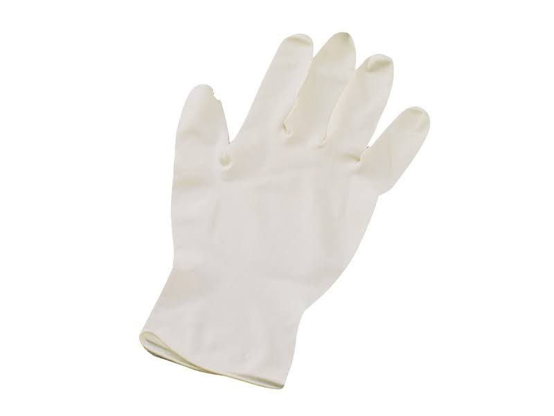 Scan Latex Gloves - Large, 100 Pack