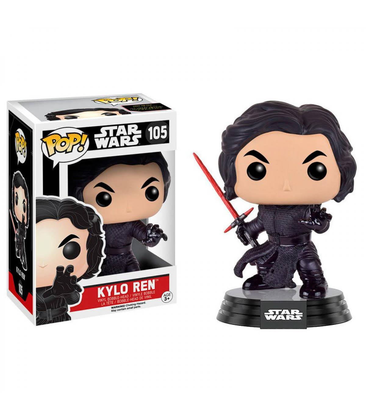 Funko Pop Star Wars 105 Kylo Ren Action Figure