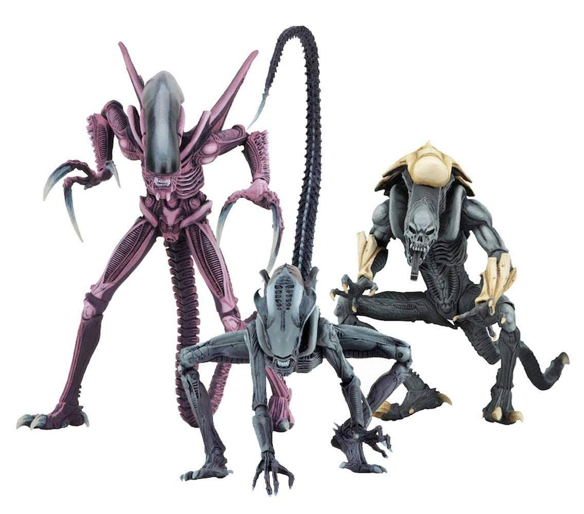 Alien VS Predator: Alien Arcade Set of 3 Action Figure by Neca