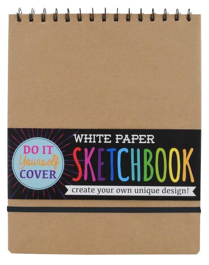 International Arrivals Do It Yourself Cover Sketchbook - White Paper