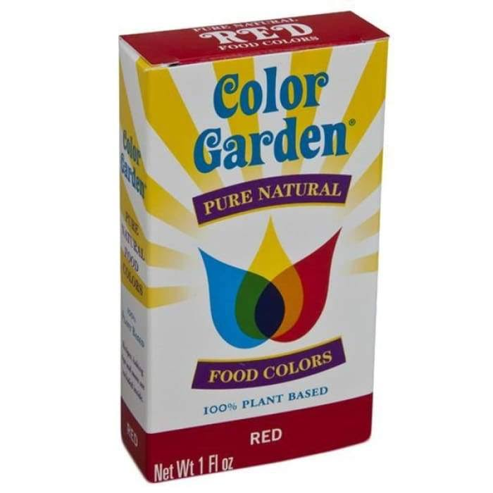Color Garden Pure Natural Food Colors - Red, 6g