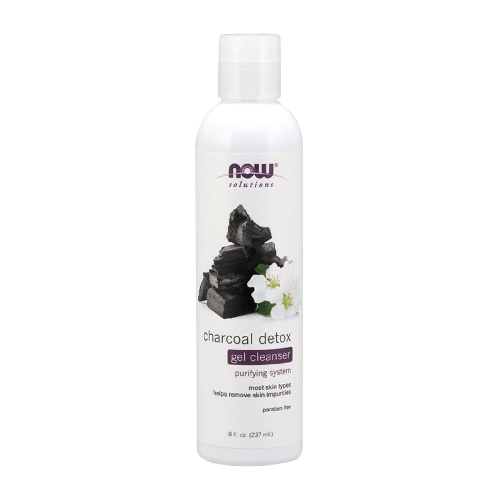 Now - Charcoal Detox Gel Cleanser 8 fl oz