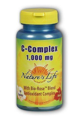 Nature's Life C-Complex Dietary Supplement - 1000mg, 50ct