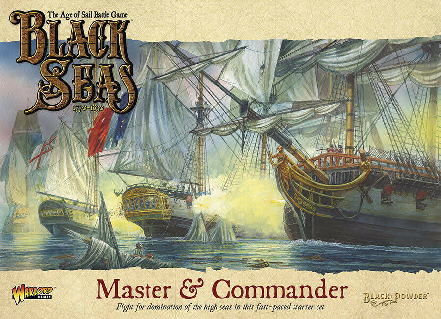 Warlord Games Black Seas Master and Commander Miniature