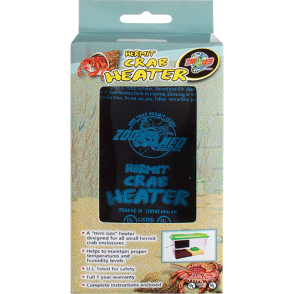 Zoo Med Hermit Crab Heater - 4W