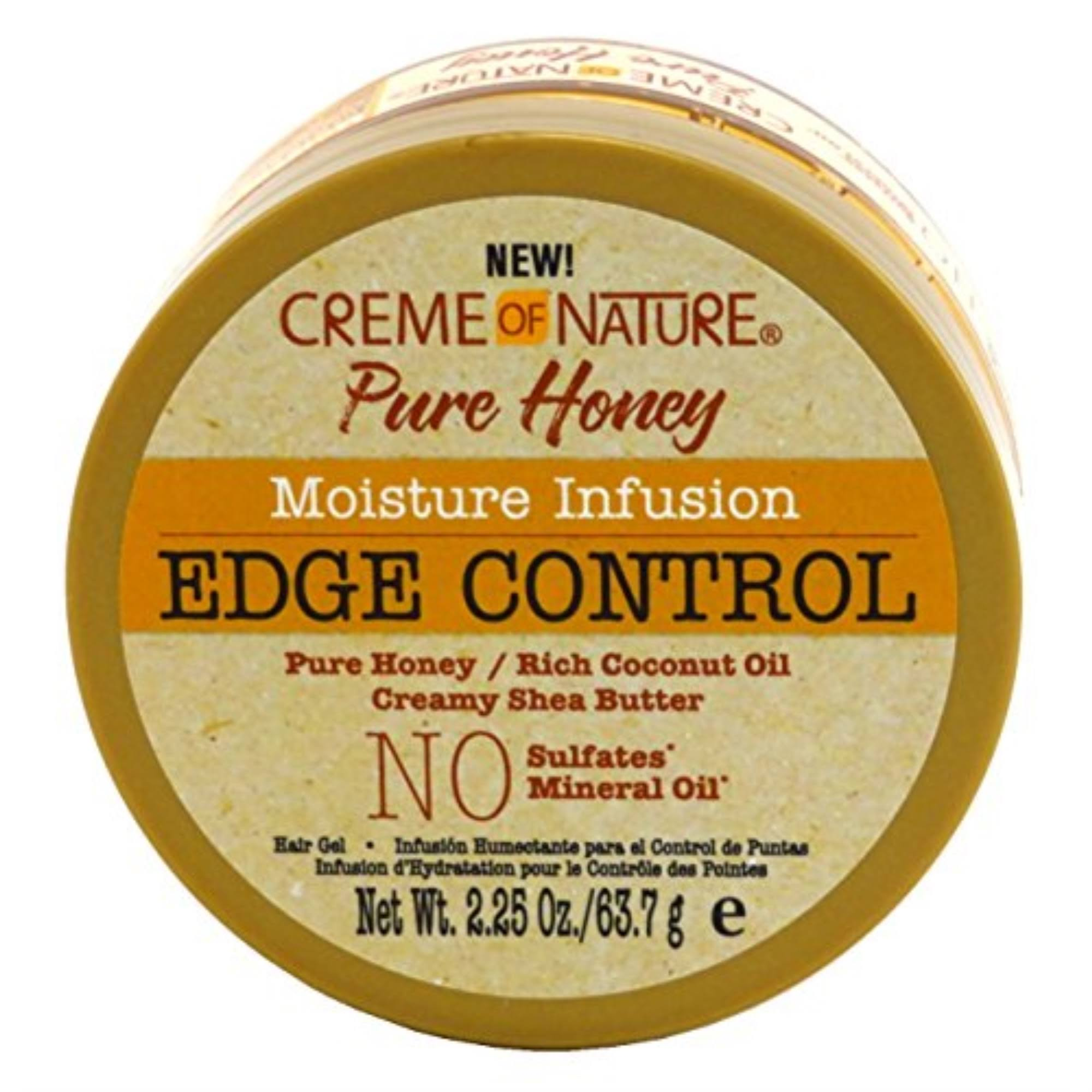Cream of Nature Pure Honey Moisture Infusion Edge Control - 63.7g