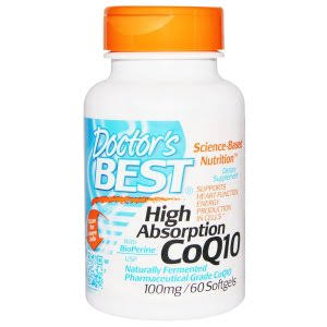 Doctor's Best High Absorption Coq10 Supplement - 60ct