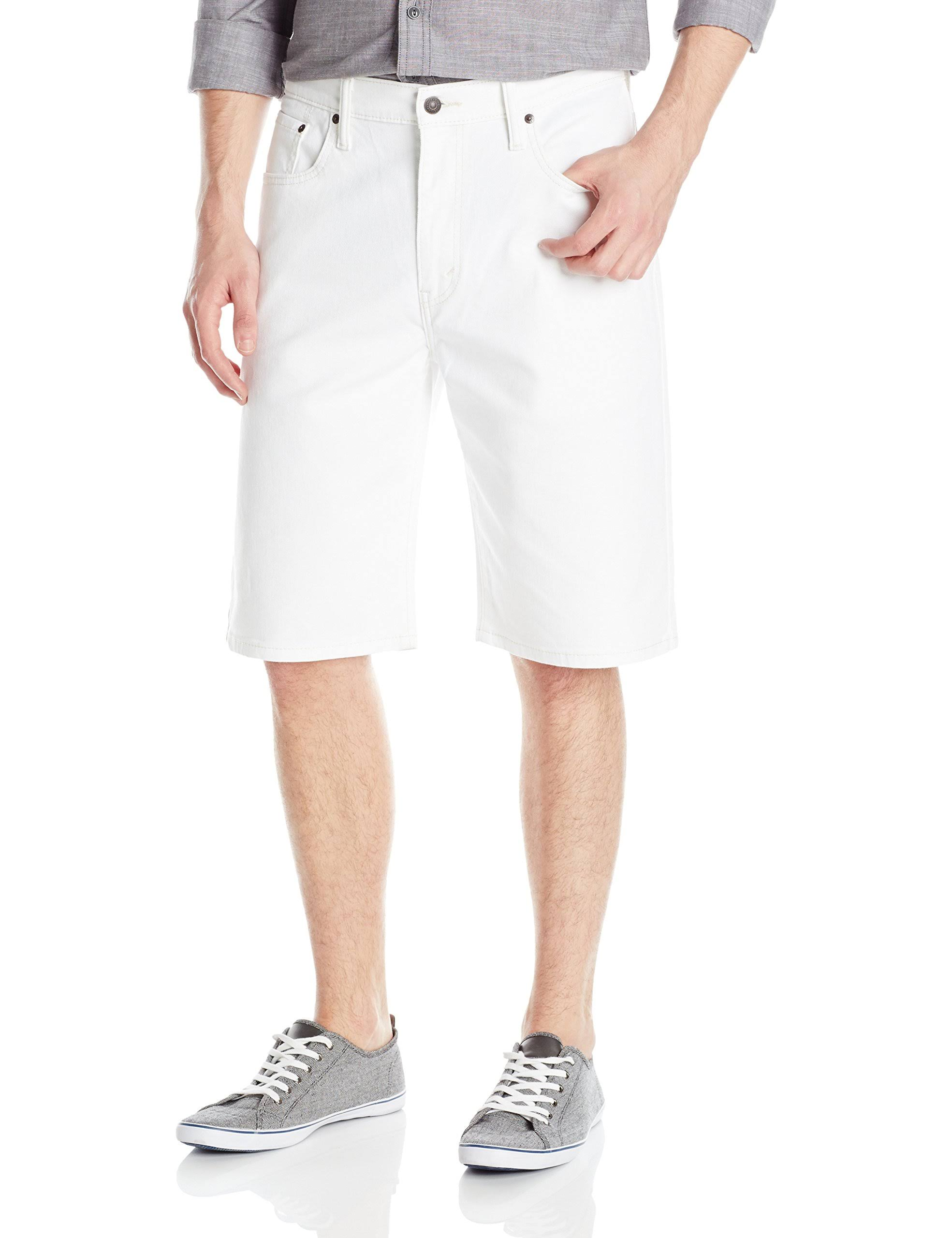 Levi's Men's 569 Loose-Fit Shorts - White 38