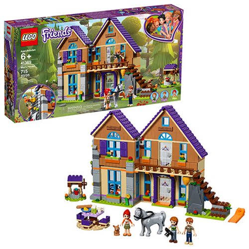 LEGO Friends Mia's House Building Toy - 715pcs
