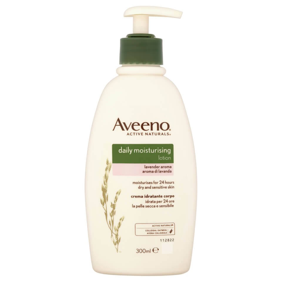 Aveeno Daily Moisturising Body Lotion - with Lavender Aroma, 300ml