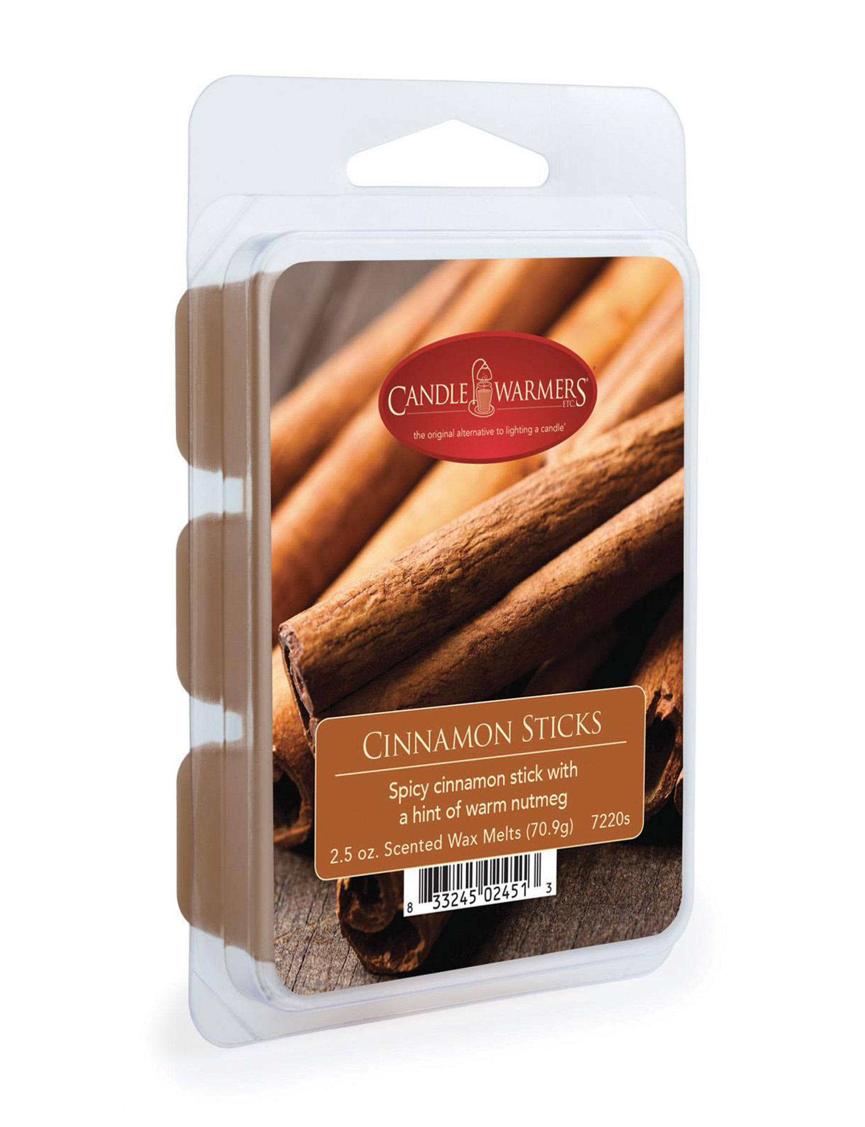 Candle Warmers Cinnamon Sticks 2.5 oz Wax Melts
