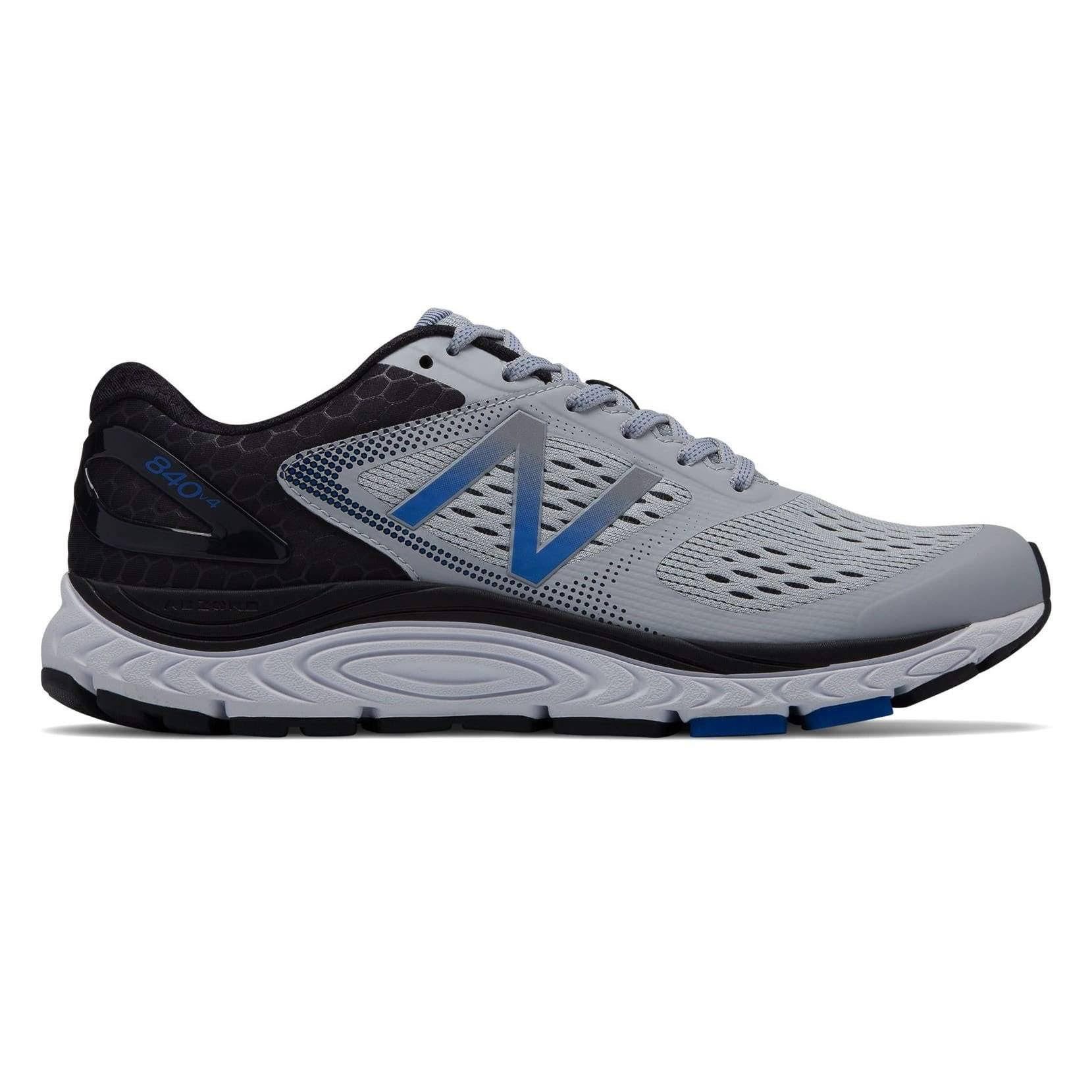 New Balance 840v4 Men's Running Shoes Silver Mink/Team Blue : 11.5 4E - Extra Wide