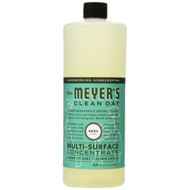 Mrs. Meyer's Clean Day Multi-Surface Concentrate - Basil, 32oz