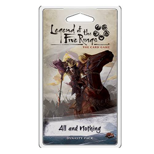 Legend of The Five Rings LCG: All and Nothing (Dynasty Pack)