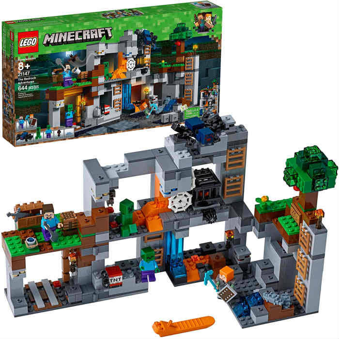 Lego Minecraft - The Bedrock Adventures 21147