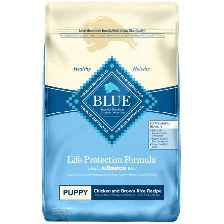 Blue Buffalo Life Protection Dry Puppy Food - Chicken & Brown Rice, 30 lb