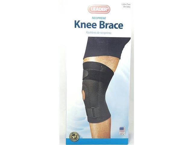 Leader Knee Brace, Neoprene, Extra Large
