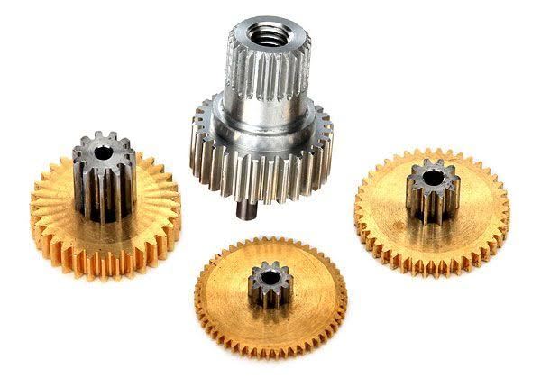 Traxxas 2082X - Gear Set, Metal (For 2080X Micro Waterproof Servo)