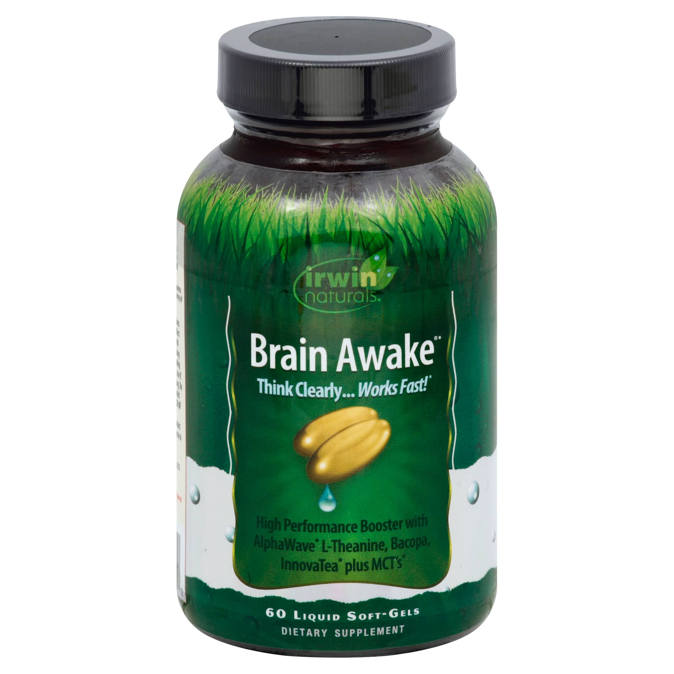 Irwin Naturals Brain Awake Diet Supplement