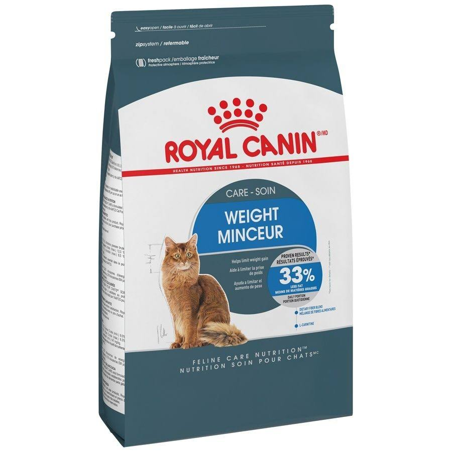Royal Canin Indoor Light Dry Cat Food - 3lbs