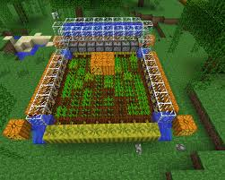 Minecraft Grow Pumpkins Fast by Multi Level Vertically Expandable Wheat Farm 3 1 Redstone