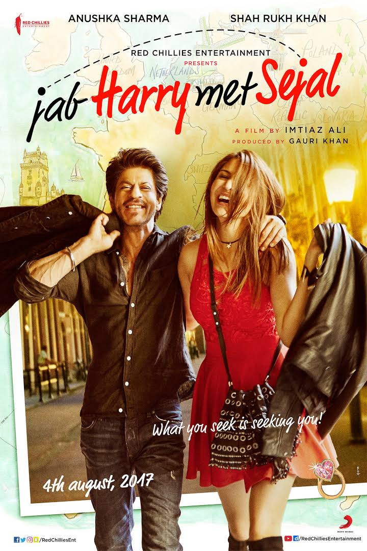 Jab Harry Met Sejal 2017 Hindi Movie Free Download 720p BluRay