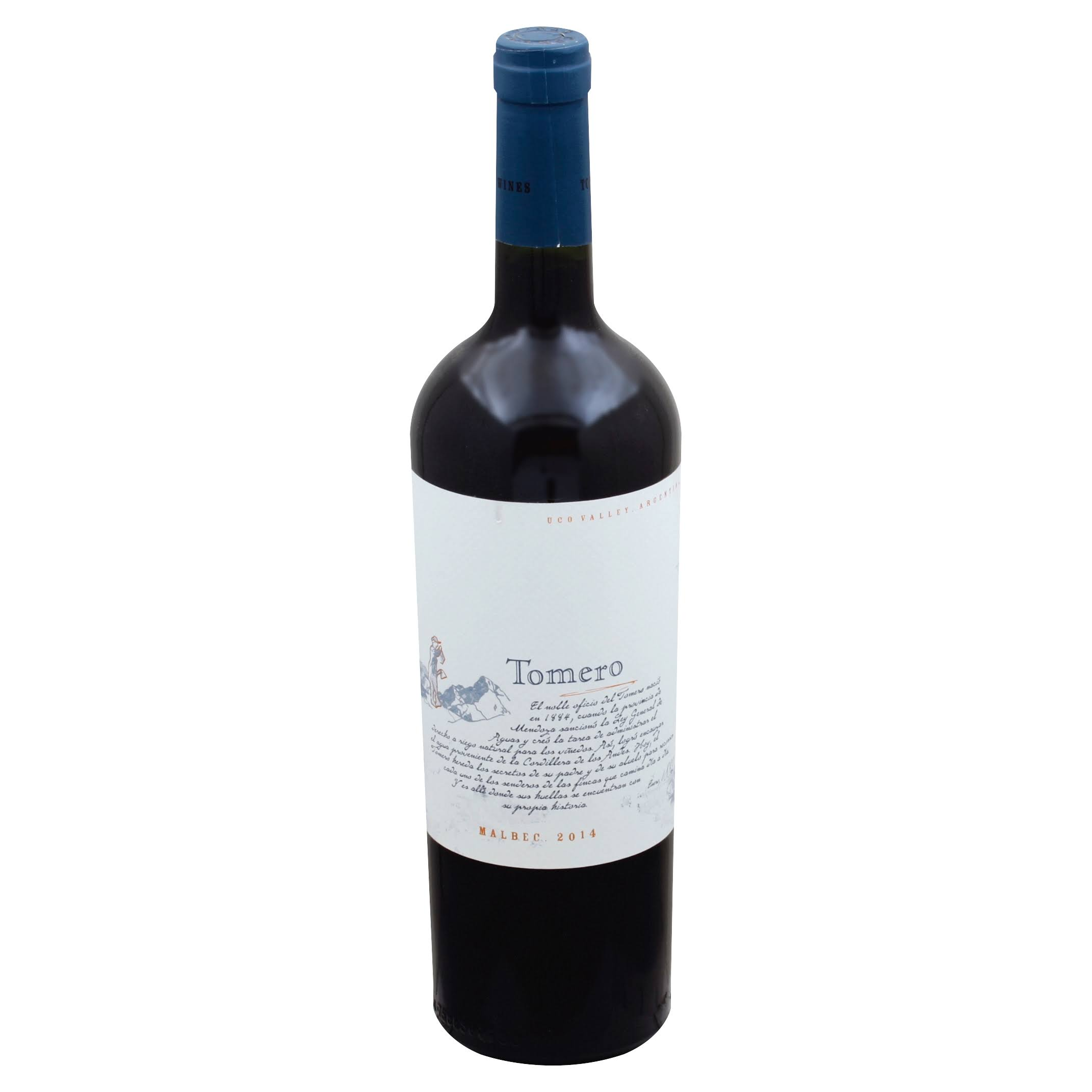 Tomero Malbec, Mendoza (Vintage Varies) - 750 ml bottle