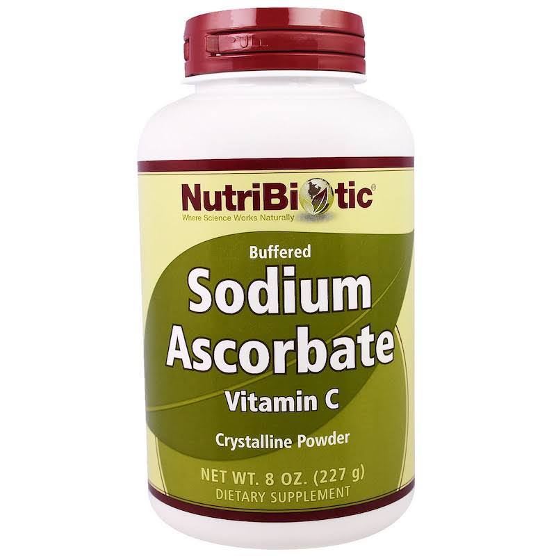 Nutribiotic Sodium Ascorbate Vitamin C Powder - 227g
