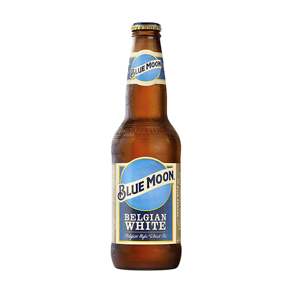 Blue Moon Belgian-Style Wheat Ale - 355 ml