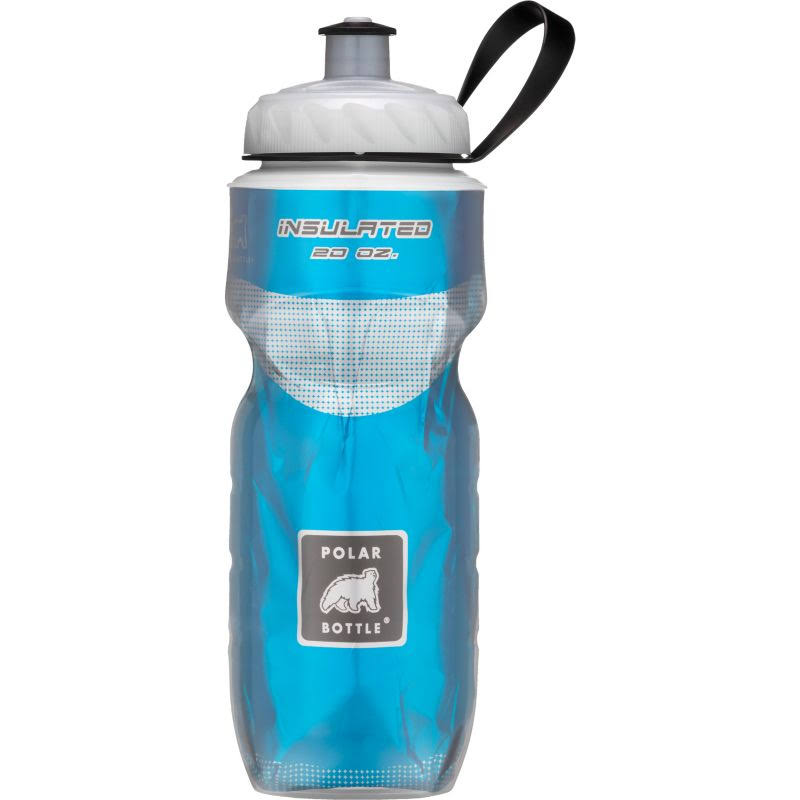 Polar Insulated Water Bottle - 20oz, Blue