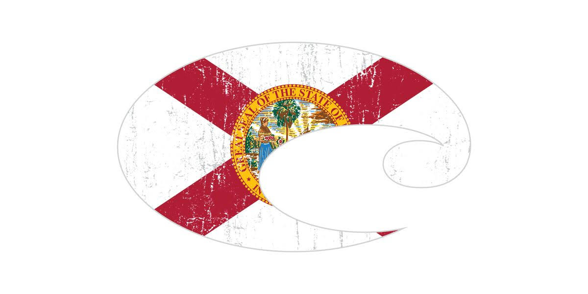 Costa Del Mar - Decal Florida SM 43
