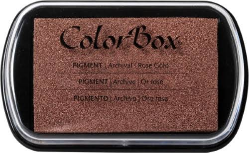 ColorBox Pigment Inkpad - Full Size, Metallic Rose Gold