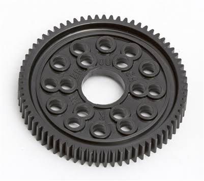 Team Associated Spur Gear - 69 Tooth, 48P, Black