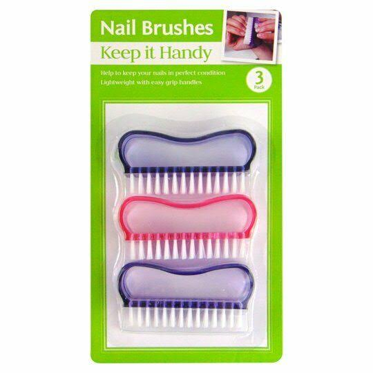 Keep It Hand Nail Brushes - 3pk