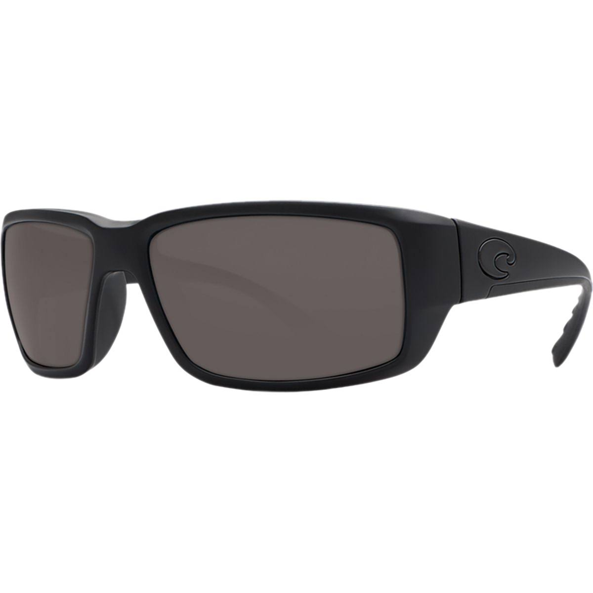 Costa Del Mar Fantail Polarized Sunglasses - Blackout Frame