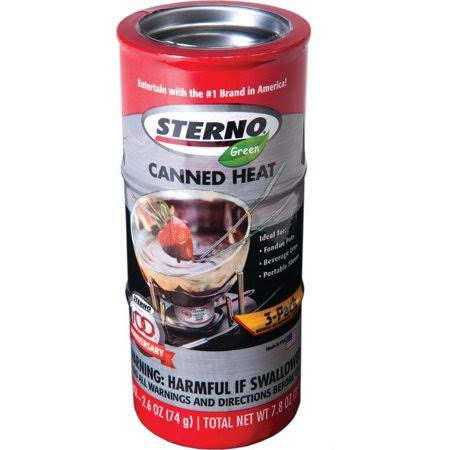 Sterno Canned Heat Cooking Fuel - 2.5oz